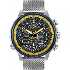 Montre Chronographe Homme Citizen Navihawk A-T Blue Angels JY8031-56L