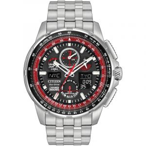 Montre Chronographe Homme Citizen Skyhawk A-T Red Arrows JY8059-57E