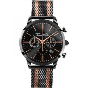 Montre Chronographe Homme Thomas Sabo Rebel Spirit Chrono WA0289-285-203-42MM