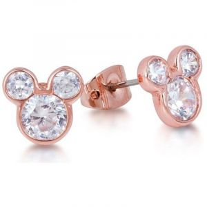 Bijoux Femme Disney Couture Crystal Mickey Mouse Head Stud Boucles d'oreilles DRE456