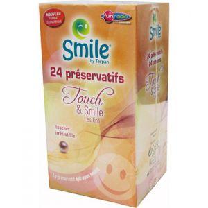 Smile Touch & Smile - Boîte de 24 préservatifs