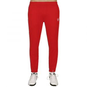 Sergio Tacchini Young Line Pro Pantalon Survêtement Hommes - Rouge , Blanc