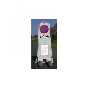 "Panneau polypropylène b6m3 ""stationnement interdit"" - nadia"
