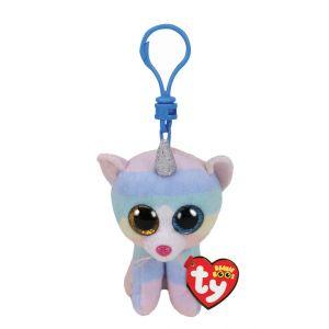 Claire's Porte-clés à clip Heather la chatte-licorne de Ty Beanie Boo