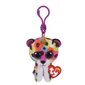 Claire's Porte-clés à clip Giselle la licorne-léopard de Ty Beanie Boo