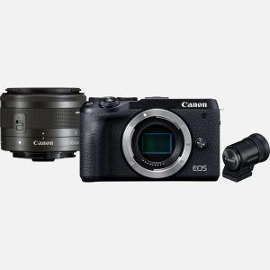 Canon EOSM6 MarkII+ ObjectifEF-M 15-45mm IS STM+ Viseur électronique