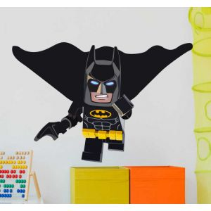 Sticker Mural Super Héro Lego batman