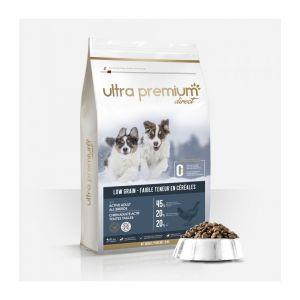 12kg Croquettes Super Premium - Chien Adulte Actif/Energie/Chasse - Ultra Premium Direct