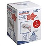 Wypall X60 Wipers, 1-ply, blue, multibox63m, 42x24.5 cm, 150 sheets/roll (combi)