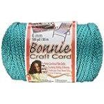 Pepperell (polyoléfine macramé Bonnie en Fibre Craft Cordon 6MMX 100Yard-Turquoise