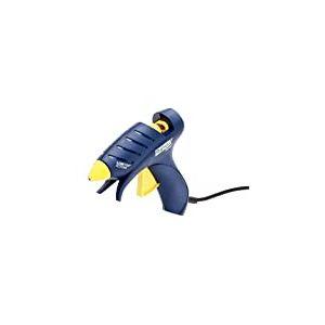 Rapid, 5000435, Pistolet à colle basse température 100W, Pour le bricolage à la maison et à l'école, Bâton de colle ovale, EG130