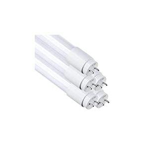 Lot 5x Tube LED 60 cm, 9w. Couleur blanc froid (6500 K). 870 Lumens. T8 standard. Starter Inclus.