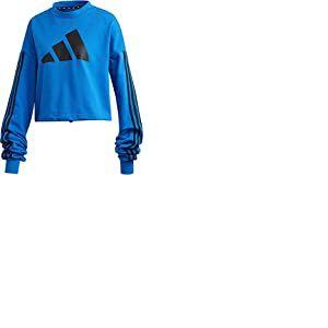 adidas W Adjust Sweat Maillot de survêtement Femme, Bleu, XXS