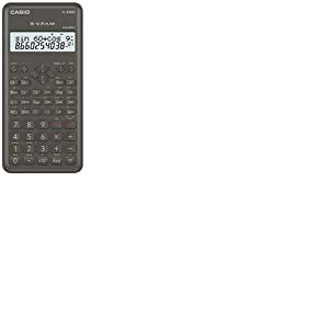 Casio FX-82MS-2 Calculatrice scientifique alimentation par pile, gris