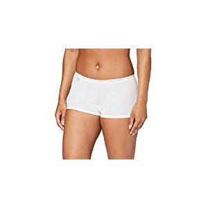 Sloggi Basic+ Short Boxer, Blanc (White 0003), 44 Femme