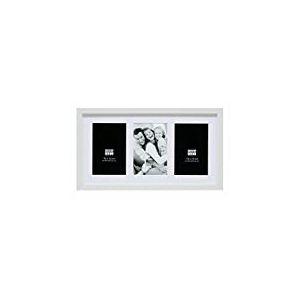 Deknudt Frames S66KA6 Cadre Photo pour 3 Photos Vertical Blanc 15 x 20 cm