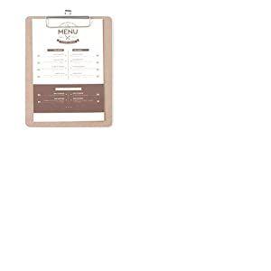 Hendi Protège-menu Clipboard