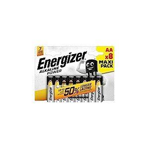 Energizer E300128000Blister de 8 piles alcalines LR6 AA
