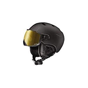Julbo Sphere Casque de Ski connecté Bluetooth avec visière REACTIV photochromique Homme, Noir, 60/62