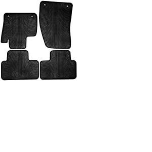 Set tapis de caoutchouc Volvo XC40 2018- (T profil 4-pièces + clips de montage)