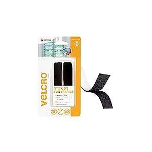 VELCRO Brand Ruban adhésif pour textile 19mmx 60cm Noir