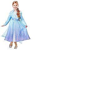 Rubies Robe Elsa La reine des Neiges, I-300506XL, Multicolore, XL-9-10 ans