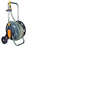 Hozelock 2435R0000 Dévidoir Chariot Equipe, Gris, 45,5 x 35 x 50,5 cm