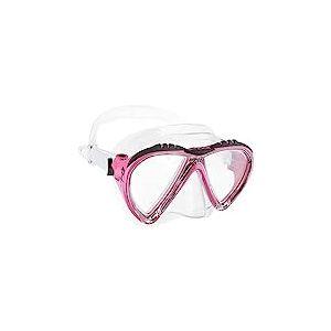 Cressi Lince Masque de Plongée Snorkeling Femme Clair/Rose