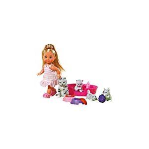Simba - 105734191 - Poupée pour Enfant - Evi Love Amie Animaux - Modèle Aléatoire
