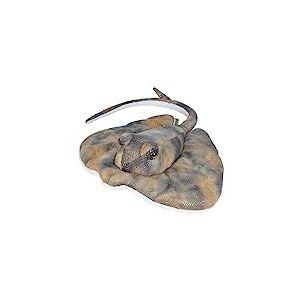 Wild Republic Peluche Raie pastenague américaine, Cuddlekins doudouier, Cadeaux pour Enfants, 30 cm, 21470, Multicolore