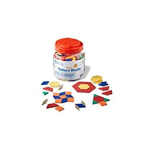 Learning Resources Formes en Plastique - 0/5 cm