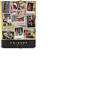 Erik® - Chemise cartonnée à élastique 3 rabats Friends - Rigide - 24 x 34 cm