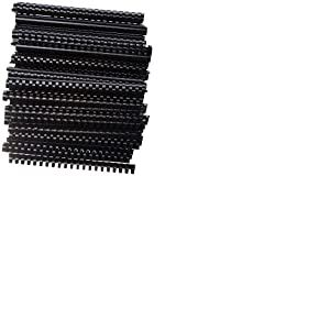 Peach Binding Combs 22 mm, Black, 50-Pack - PB422-02