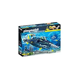 Playmobil 70005 Top Agents Team S.H.A.R.K. Drill Destroyer Multicolore