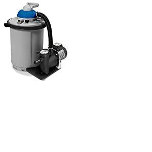 Spid'O Groupe de filtration piscine COMBO 10 Kit (pompe+cuve+aqualoon) 10M3/H pour piscine jusqu'à 35m3