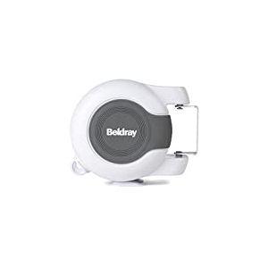 Beldray La02701626Metre rétractable Double Corde à Linge, Blanc, 18.5x 16x 9.5cm