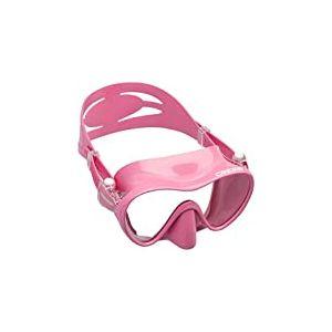 Cressi F1 Masque Plongee Snorkeling Adulte, Technologie Frameless Rose