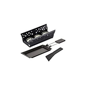 KUHN RIKON 32170 Raclette Set Candle Light Mini Noir, Autre