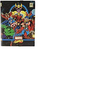 Erik® - Chemise cartonnée à élastique 3 rabats Marvel Comics Avengers - Rigide - 24 x 34 cm