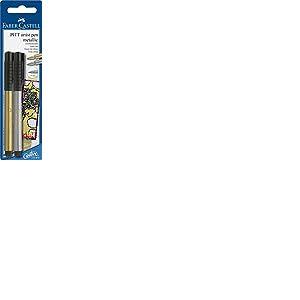 Faber Castell 167396 Feutre Pen Set Pitt Artist A250 ou A251 Argent