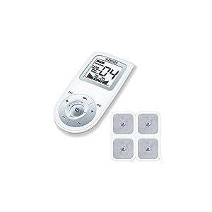 Appareil d'électrostimulation numérique EMS / TENS Sanitas SEM 43 pour le soulagement de la douleur, la stimulation musculaire et la relaxation