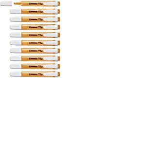 Surligneur - STABILO swing cool - Lot de 10 surligneurs - Orange