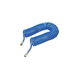 Silverline 269591 Tuyau à air comprimé enroulé 10m, Bleu