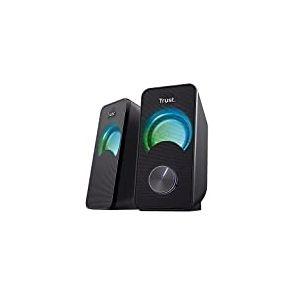 Trust Arys Compact Système d'Enceintes 2.0 à éclairage LED RVB