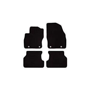Tapis de Voiture MAT10 - Noir - pour Ford Focus II - Modèles de 2004 à 2007 - 2012-09