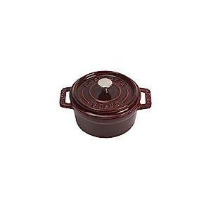 Staub 1101087 Mini Cocotte Ronde Grenadine 10 cm