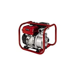 Einhell Pompe d'évacuation thermique GC-PW46 (4.6kW, moteur 4temps, maximum de 23000 litres par heure, réservoir de 3.6 litres, vendue avec adaptateurs raccord pour tuyau/raccord fileté AG)