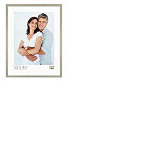 Deknudt Frames S41JD1 Cadre Photo Bois Fin Argenté 15 x 20 cm