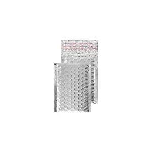 Purely Packaging Mta9090x 145mm Blake et patte autocollante enveloppe de poche-Argent métallique (lot de 100)