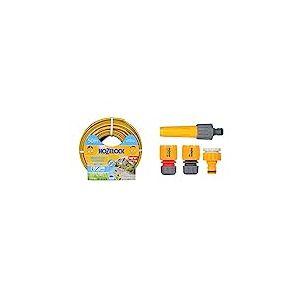 Hozelock 117024 Tuyau 50m diam 15mm Tricoflex Ultraflex & 2352P0000 Nécessaire d'arrosage